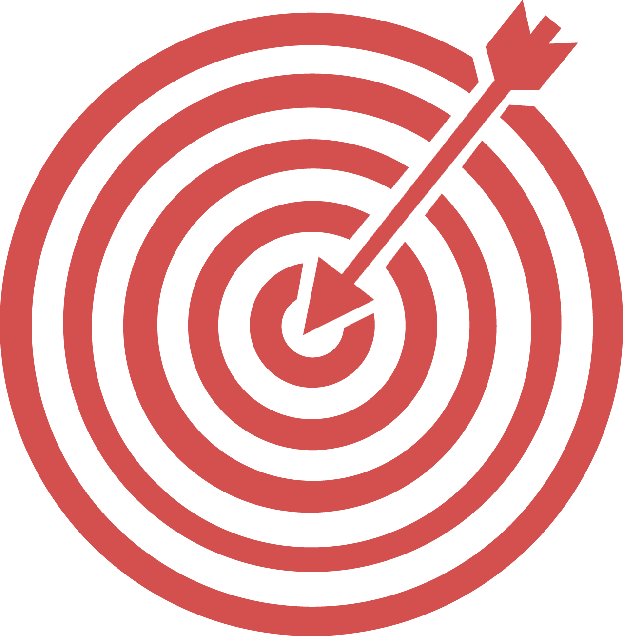 composite advantage bullseye graphic