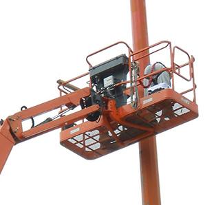 Coatings Repair Lighting Pole 2