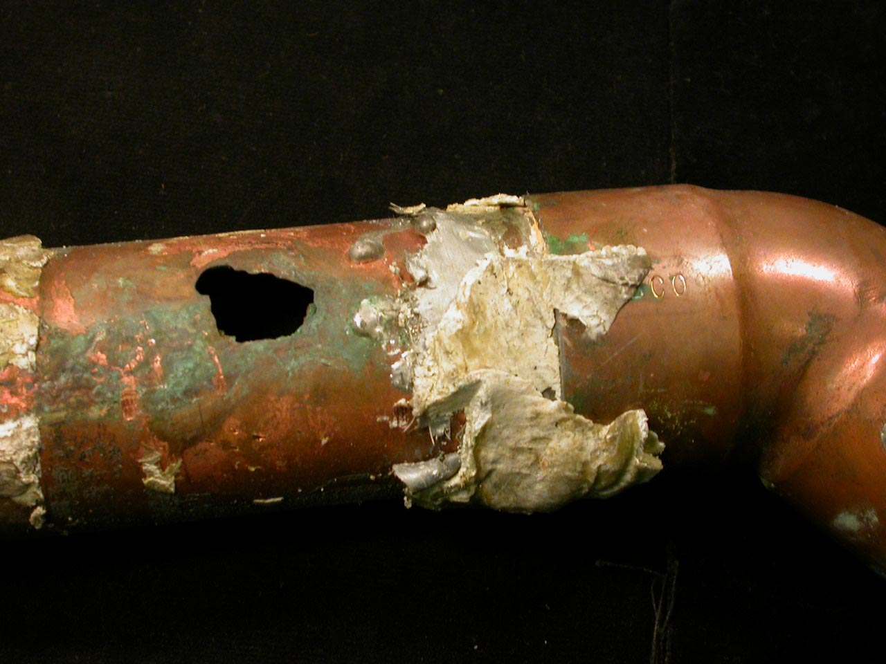 Brass pipe corrosion pictures to pin on pinterest daddy