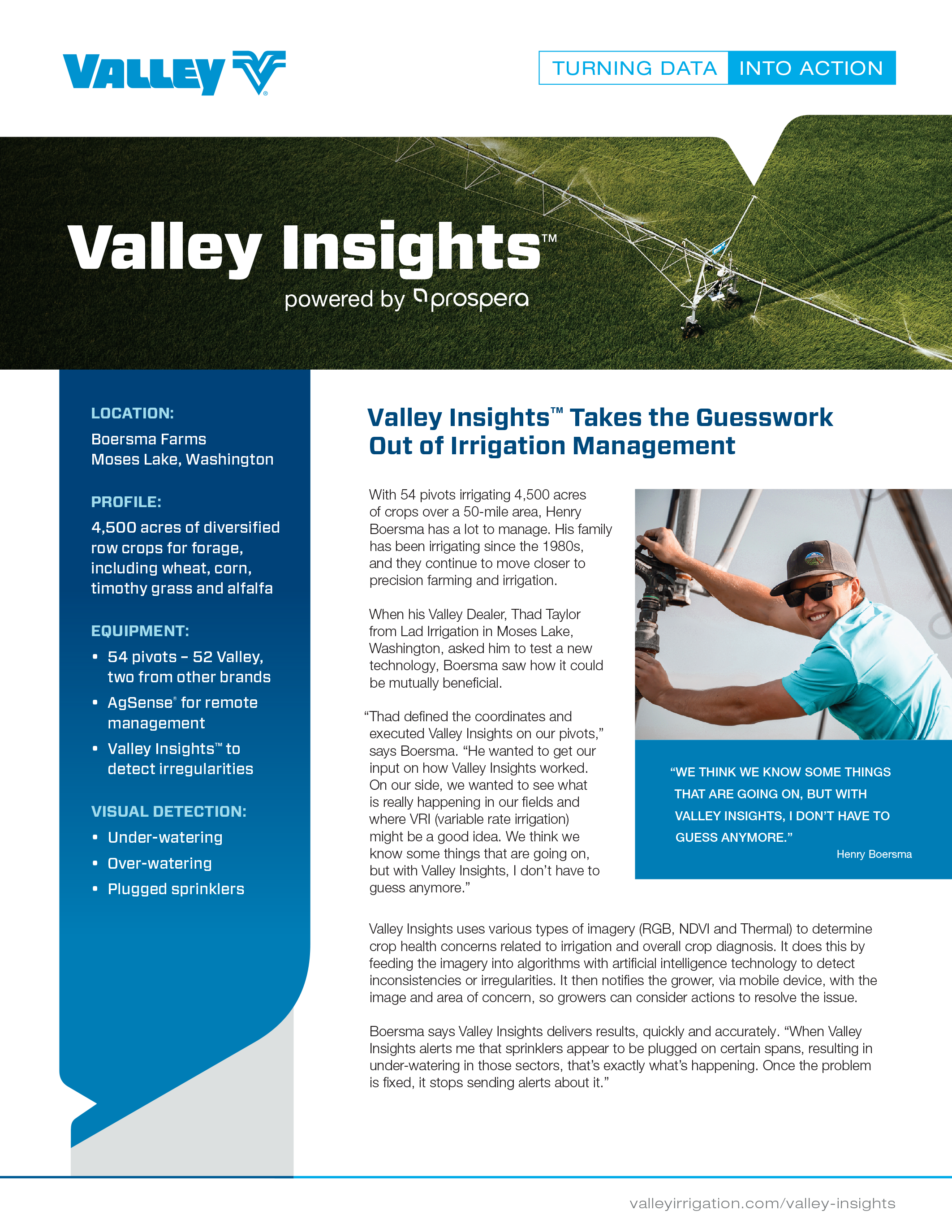 valley case study - boersma farms
