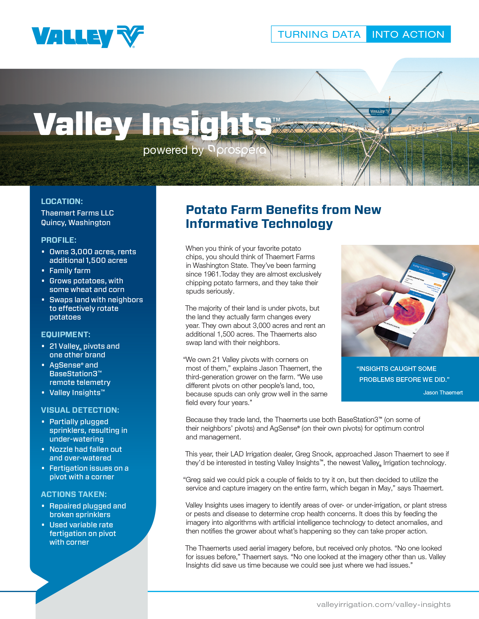 valley case study - thaemart farms