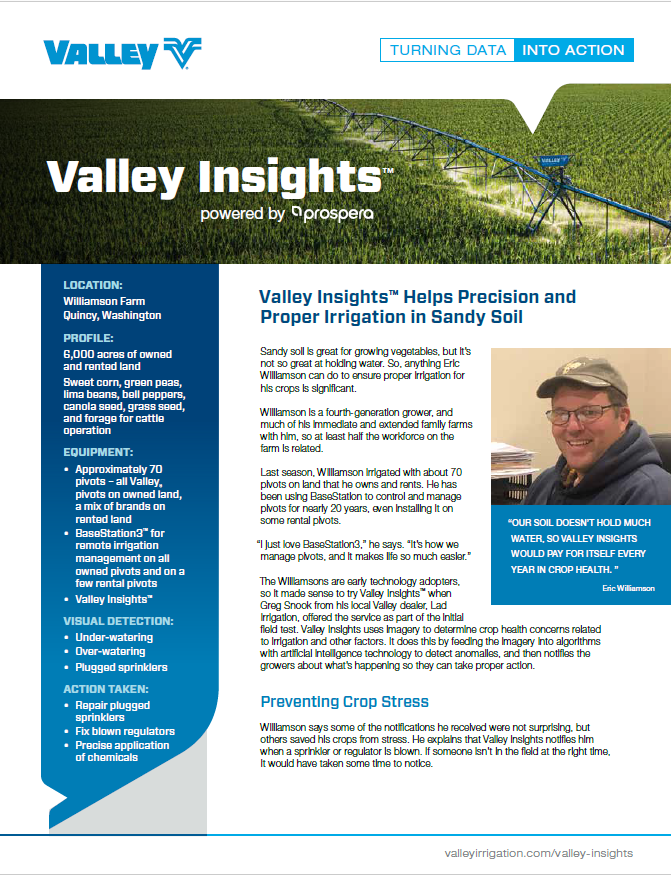 valley case study - Williamson farm