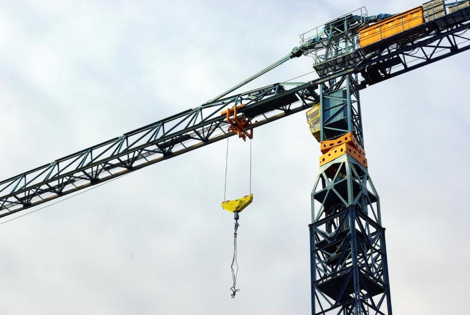 Crane using High Integrity Fasteners