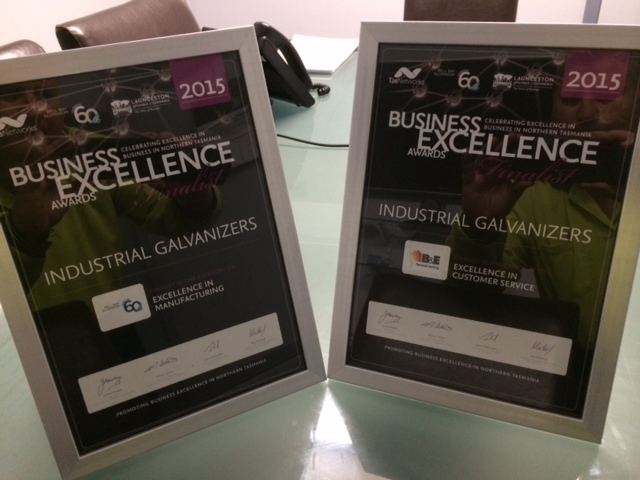 IG Tasmania Business Excellence Award