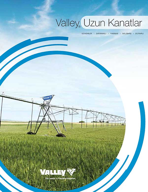 Valley Irrigation Longest Span Turkish