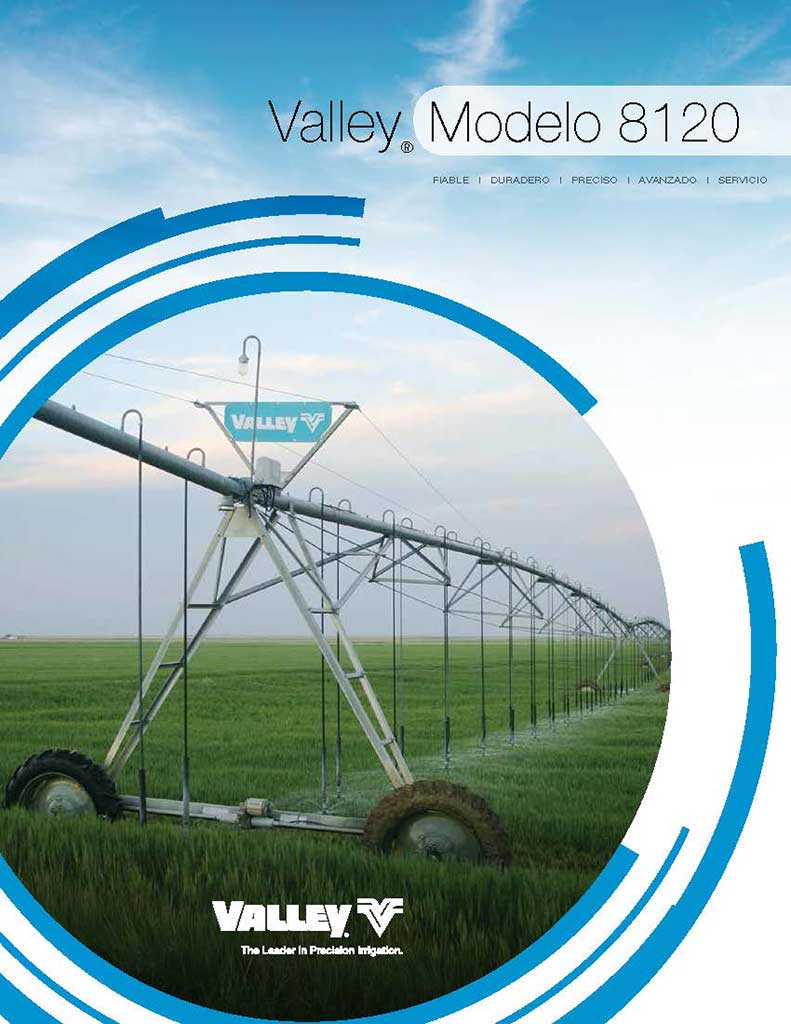 Valley Modelo 8120 brochure cover - Spanish - Espanol