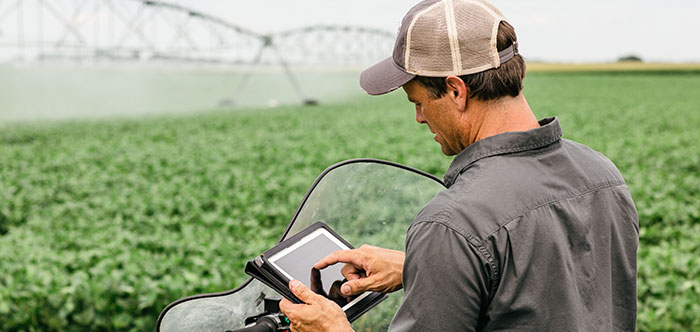 Irrigation control technology for agriculture - farming