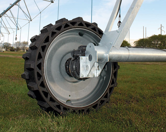 Used Tire Places >> Valley Irrigation Introduces New Airless Tire for Center Pivots