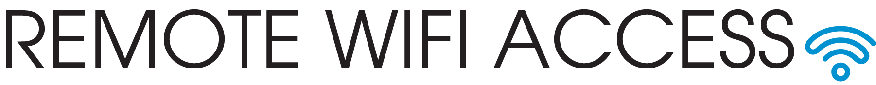 Remote Wifi Access text
