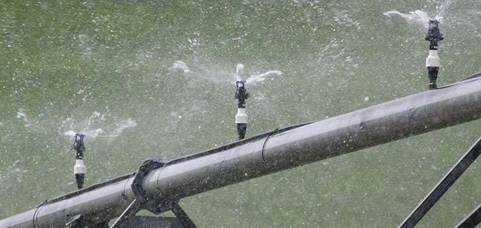 Senninger Xcel-Wobbler UP3 Top sprinkler