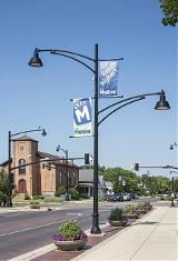 Marion IA Uptown Streetscape 23