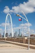 Trinity River Bridges - Dallas TX - 2