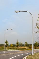 Aluminum Davit Street Lighting Poles
