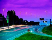 Round Tapered Street Lighting Poles