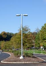 Straight Round Aluminum Poles