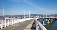 Bay Bridge Custom White Poles