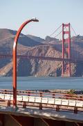 Golden Gate Bridge Custom Curved Poles