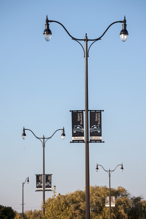 Decorative Light Poles valmont structures | street lighting photo gallery