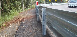 Ingal Civil MPR ezy-guard on curve