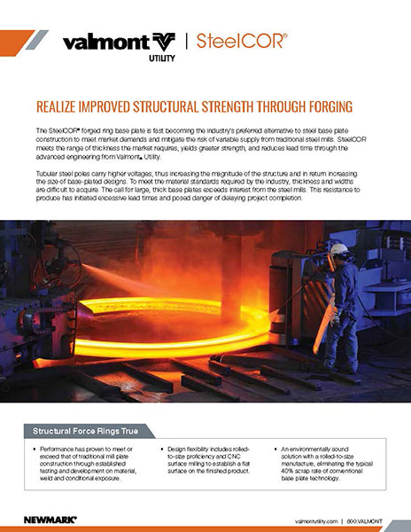 steelcor product sheet- brochure - literature