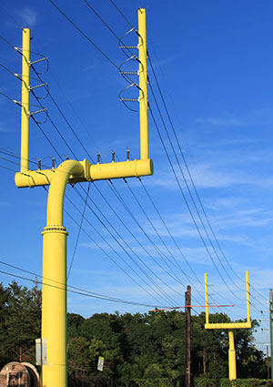 canton goal post project - valmont utility