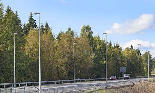 Functional poles - Steel