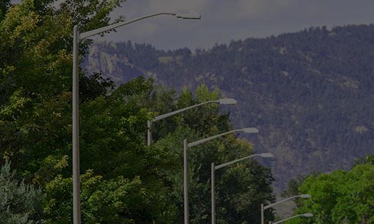 Custom Composite Light Poles