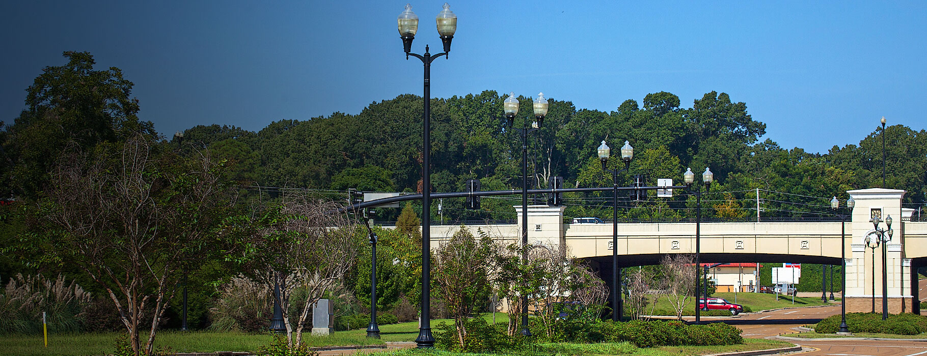 Whatley Composite Light Poles for Outdoor Lighting
