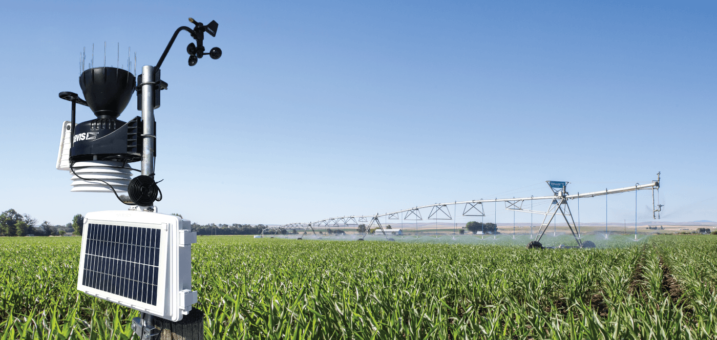 valley irrigation weather station