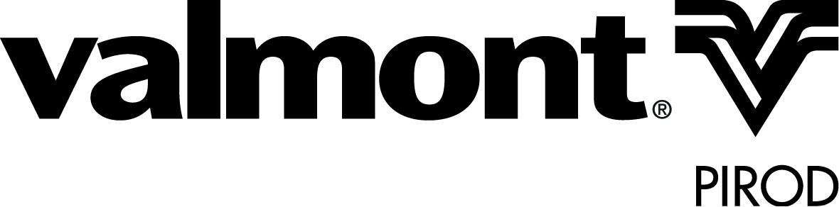 Valmont PiRod Blk Logo