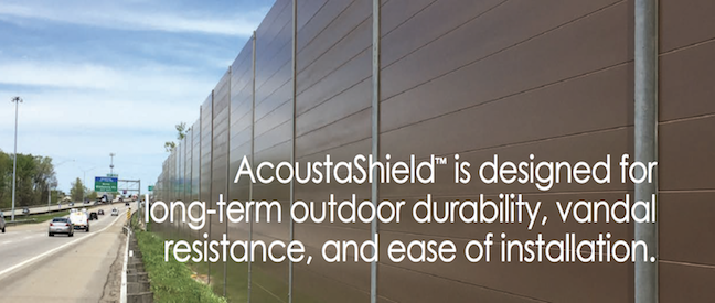 Carsonite AcoustaShield Sound Barrier