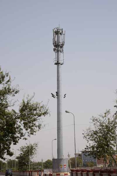 Telecom-Monopole-Tower-Valmont-India