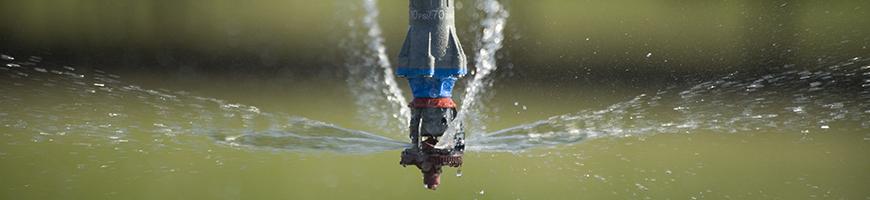 sprinkler selection - center pivot irrigation