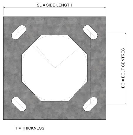 Flange-Plate-6m-12m-Derwent-Mid-hinged-Column