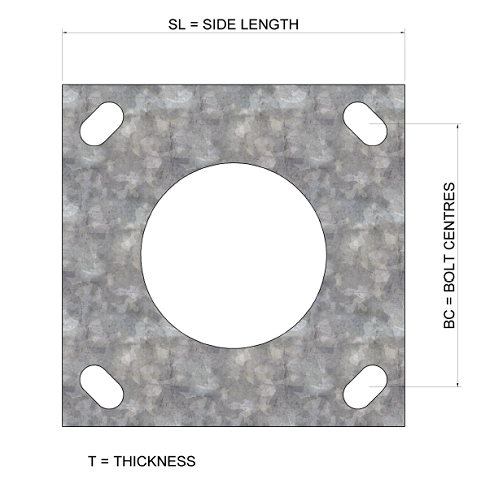 Flange-Plate-Rota-base-hinged-column