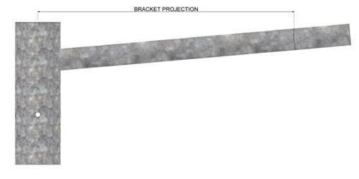 Trent-Mid-Hinged-Column-Bracket