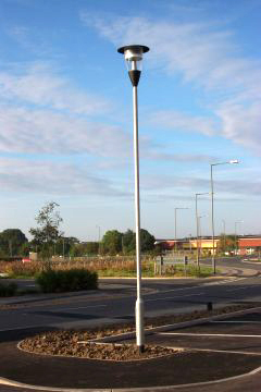 Tubular steel lighting column - Valmont Stainton