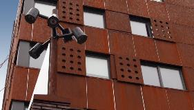 Corten-Lighting-Column-Valmont-Stainton