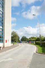 Project Lead: Thorn | Installation: Derby University | Product: Valmont Sillem Poles-g12