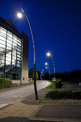Project Lead: Thorn | Installation: Derby University | Product: Valmont Sillem Poles-g6