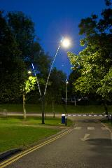 Project Lead: Thorn   Installation: Derby University   Product: Valmont Sillem Poles-g8