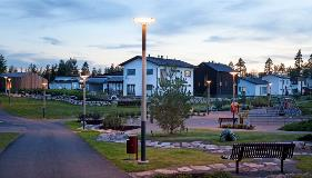 Inari-Decorative-Wood-Lighting-Column-Valmont-Stainton