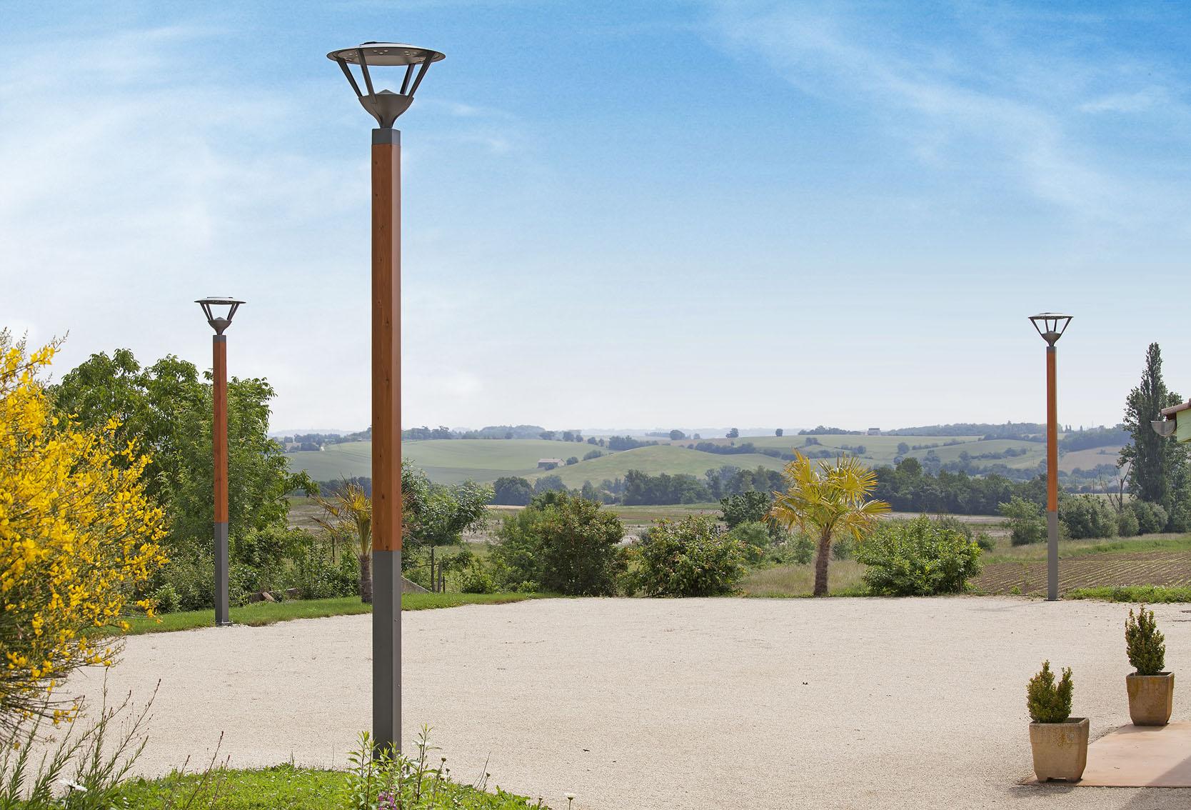Ruka model wood light pole image gallery