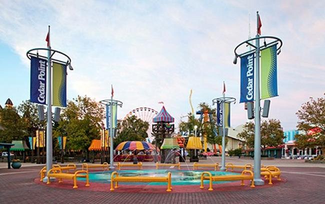 Cedar Point Amusement Park - Sandusky, OH