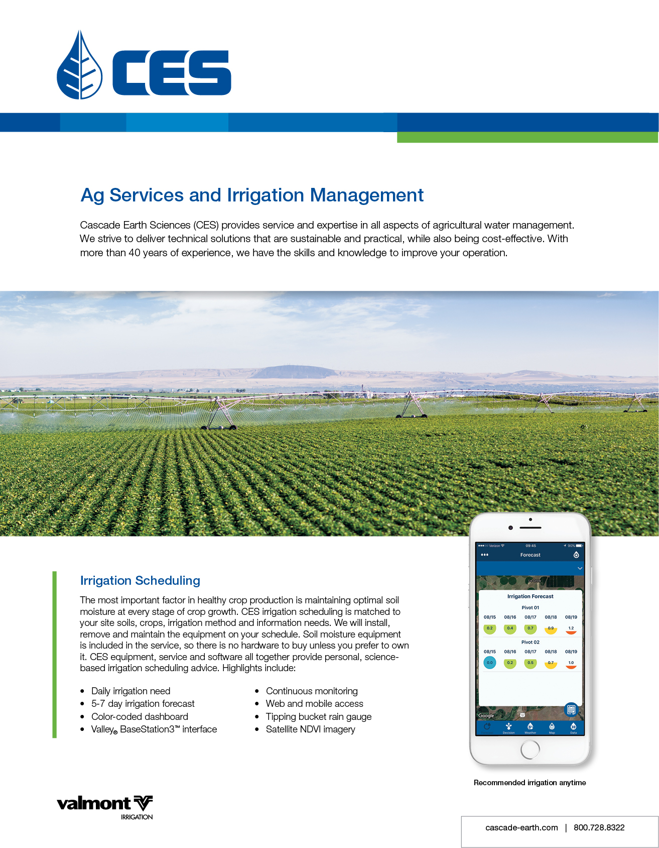 ces ag services product sheet