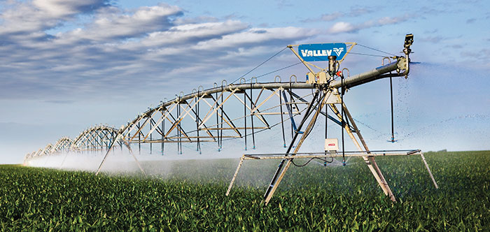 valley model 8000 center pivot irrigation machine