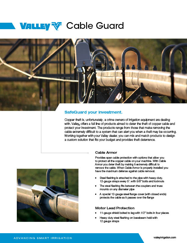 valley cableguard brochure cover