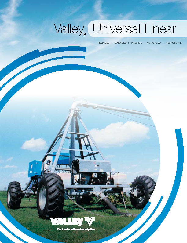 universal linear  brochure cover