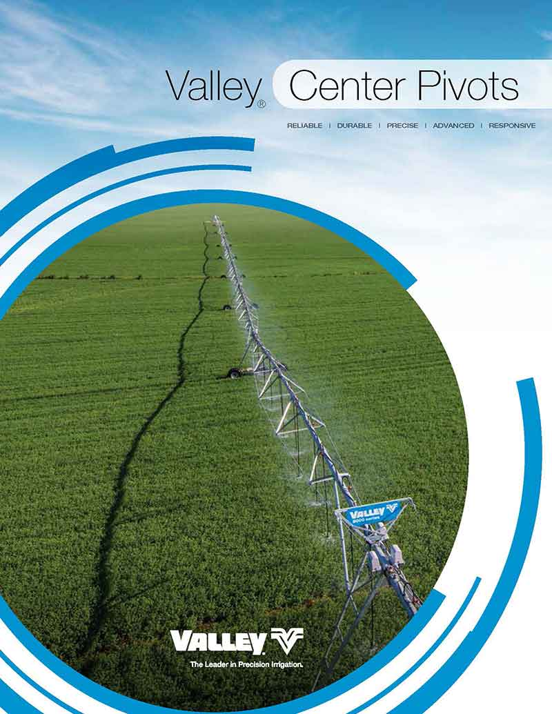 valley center pivots brochure cover