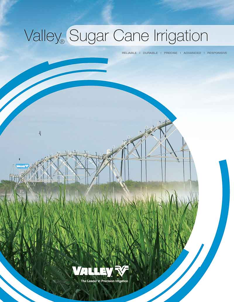 valley sugarcane irrigation brochure cover